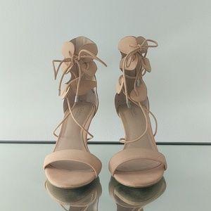 Nude heels. Size 7.5